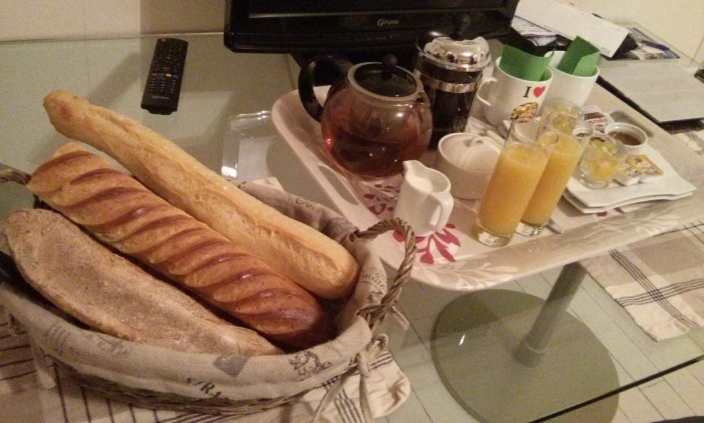 ¡Cargando pilas! Qué rico el pan francés