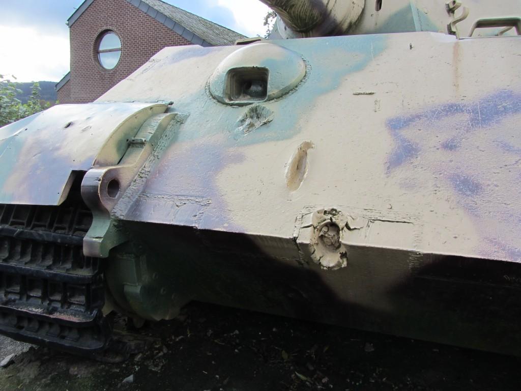 Heridas de guerra del King Tiger