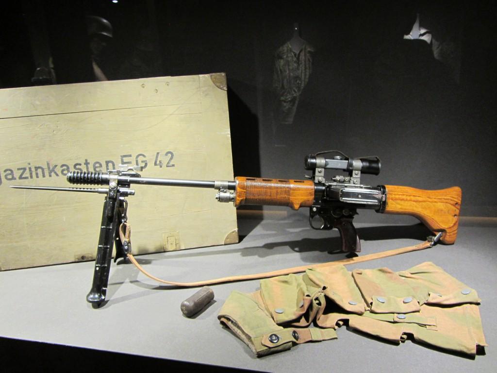 Arma conservada del ejército alemán