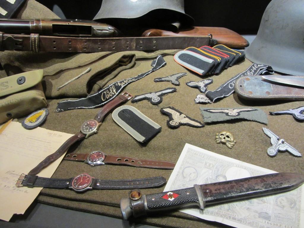 Material encontrado del ejército alemán