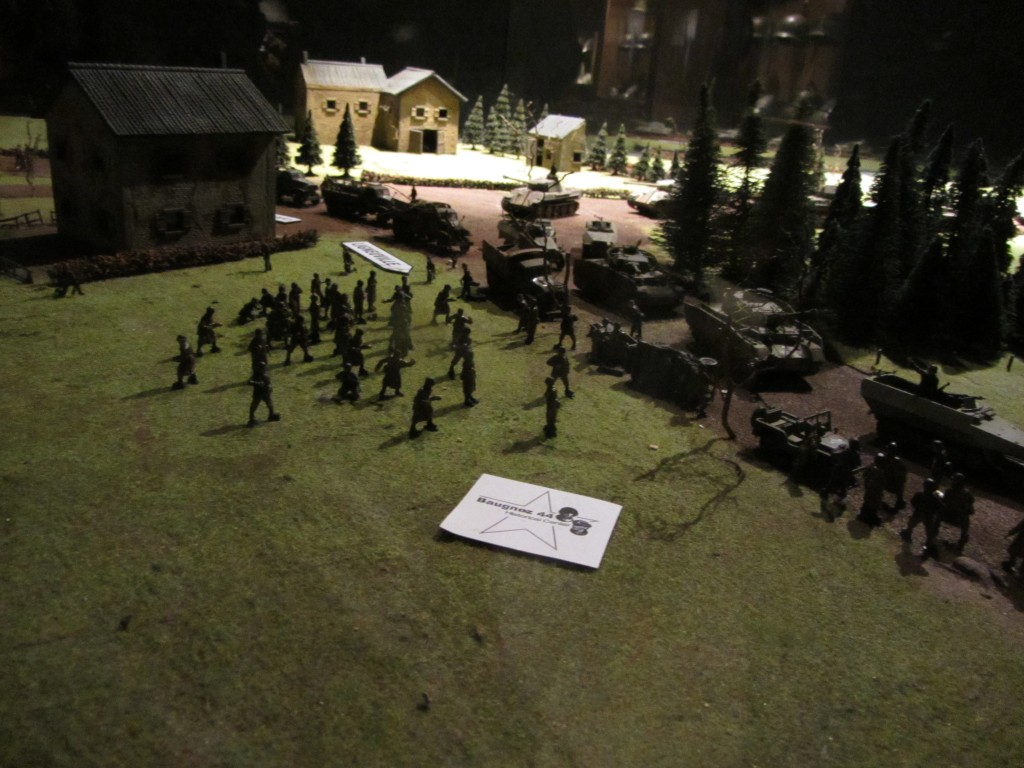 Diorama de la masacre de Malmedy