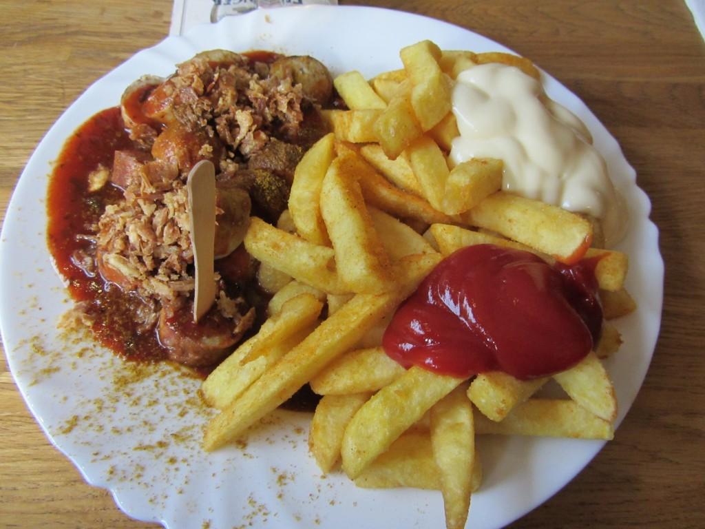 ¡La mejor currywurst de Alemania!