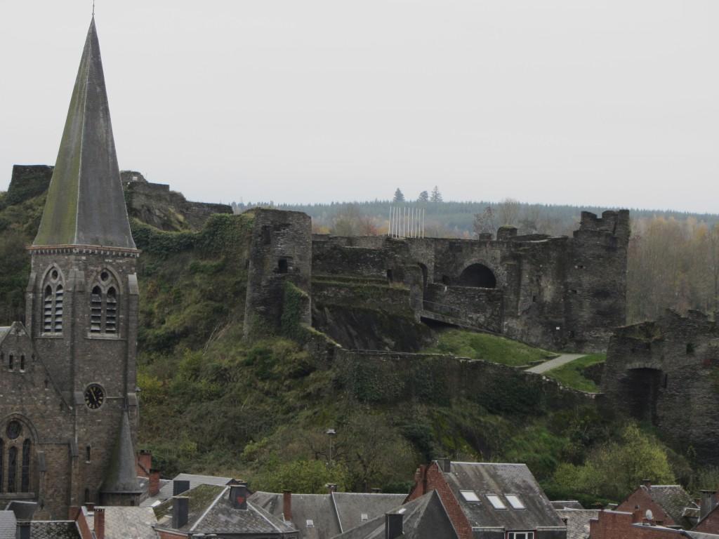 ¡Qué buena pinta tenía el castillo!