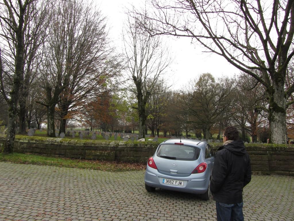 Entrada al cementerio alemán