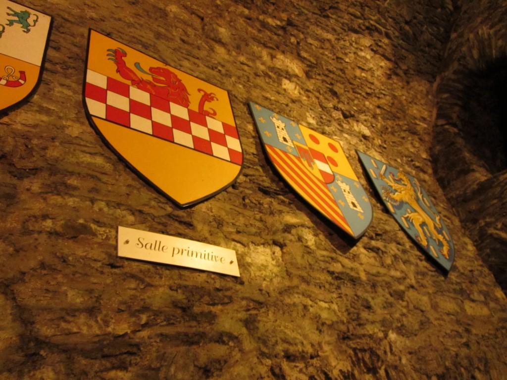 Escudos de familias de gran importancia en la historia del castillo