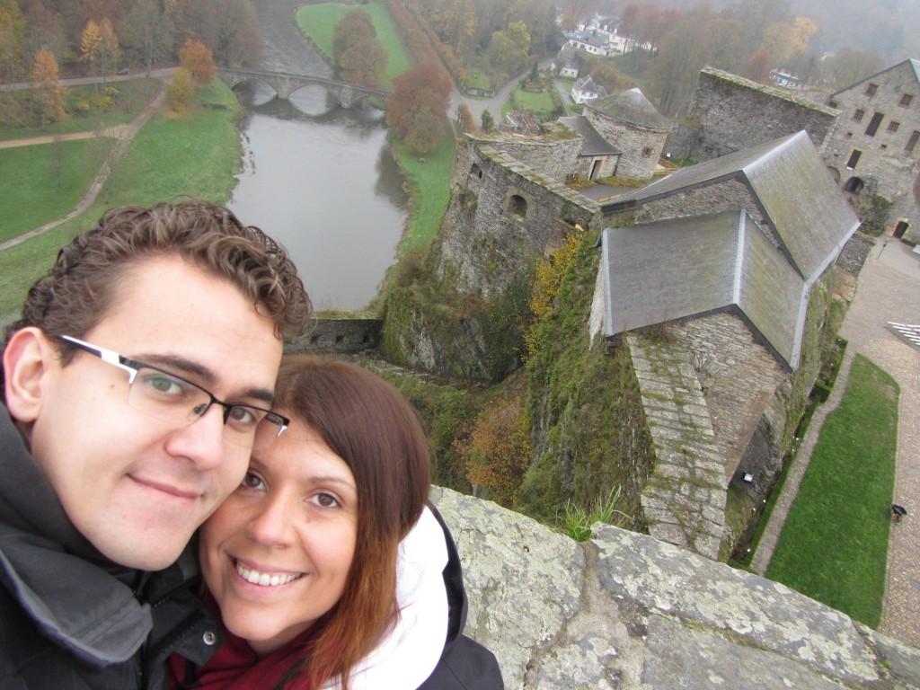 Las vistas mejoraban incluso al subir a las torres del castillo