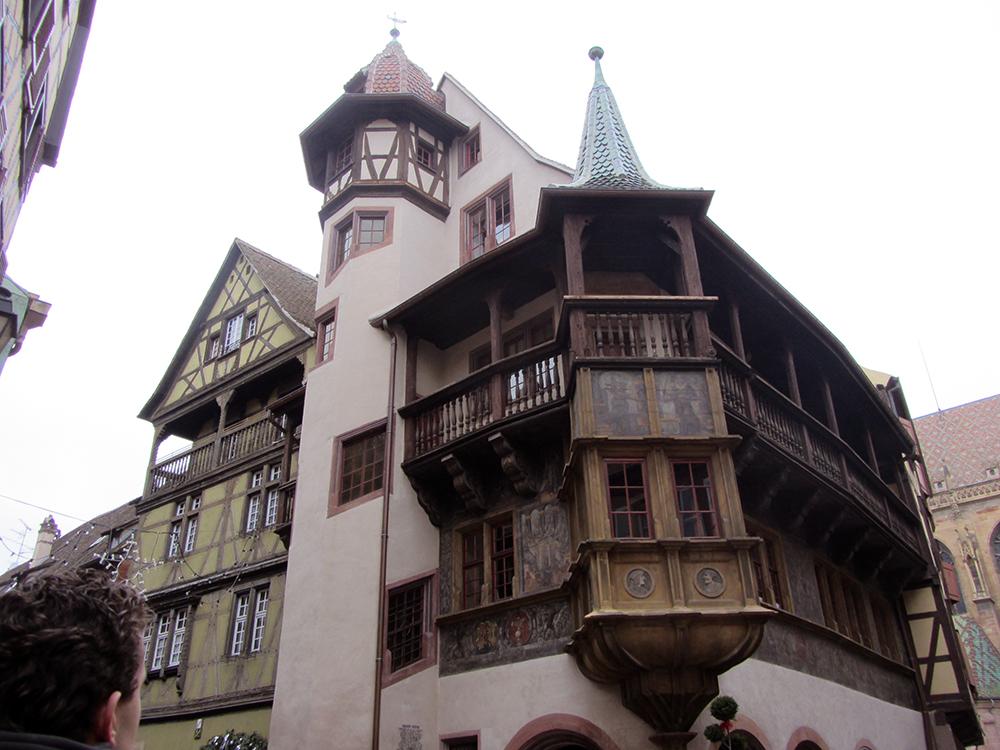 La casa Pfister de Colmar, todo un emblema de la ciudad