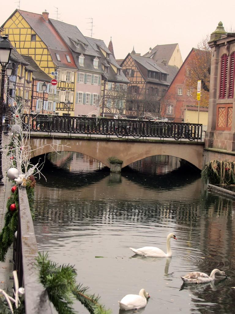 La zona de Little Venice de Colmar, una de nuestras favoritas